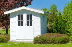 Small White Shed